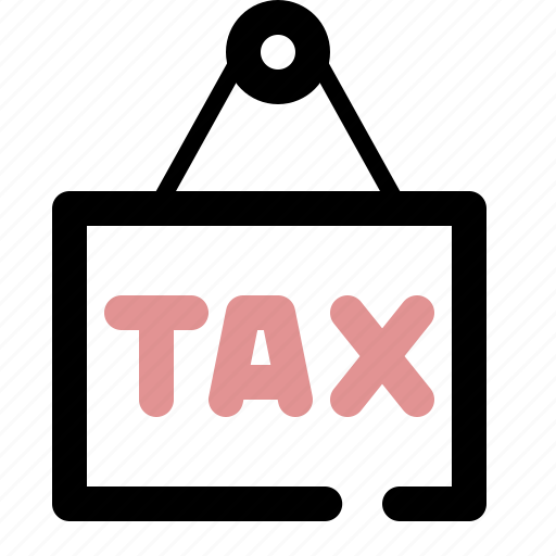 institution, state, tax icon