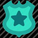 shield, police, justice, security, law, badge, judge