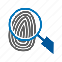 finger, fingerprint, logo, people, thumb, thumbprint, unique icon