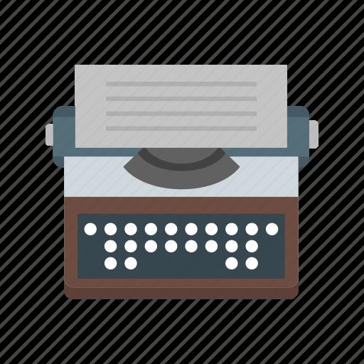 keyboard, office, type, typewriter, write, writer, writing icon