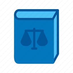 attorney, books, justice, law, lawyer, legal, library icon