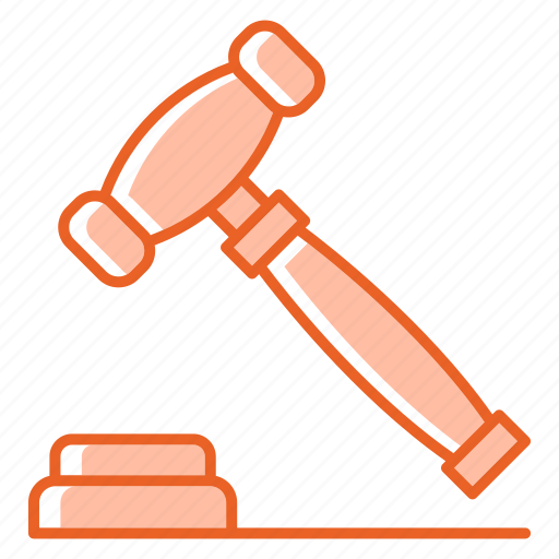 Auction, business, law, legal, police, tool icon - Download on Iconfinder