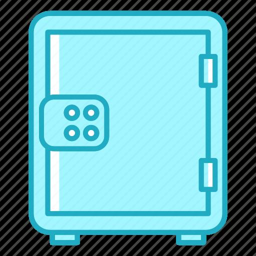 bank, box, cash, deposit, money, safe icon