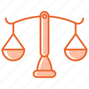 law, justice, scales of justice, legal, crime, balance icon