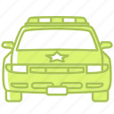 car, law, police, police car, security, security car, vehicle icon