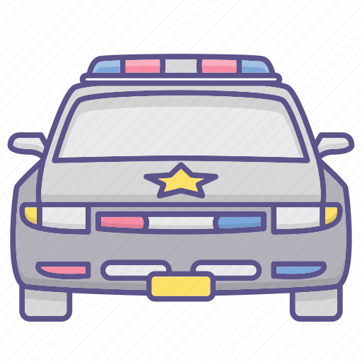 Car, police, vehicle icon - Download on Iconfinder