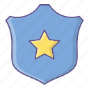 protection, shield, star