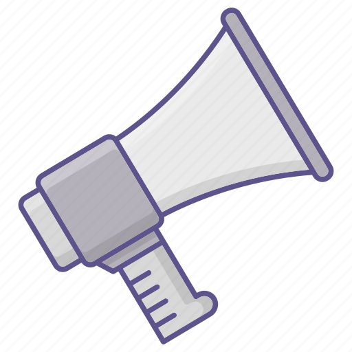 ad, advertise, promotion, speaker icon