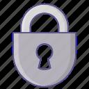 equipment, lock, protection, tool icon