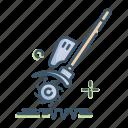 aeration, gardening, lawn, tool