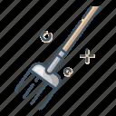 care, gardening, rake, tool