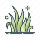 gardening, grass, lawn, plant icon