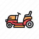 tractor, lawn, mower, mover, electrical, gasoline