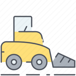 caterpillar, construction, dozer, machine, repair, tool, vehicle icon