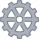 cog, cogwheel, construction, gear, mechanical, preferences, wheel icon