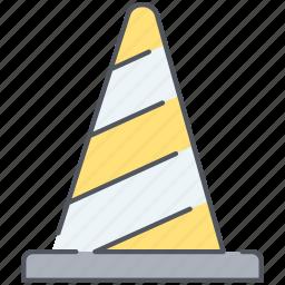 cone, construction, maintenance icon