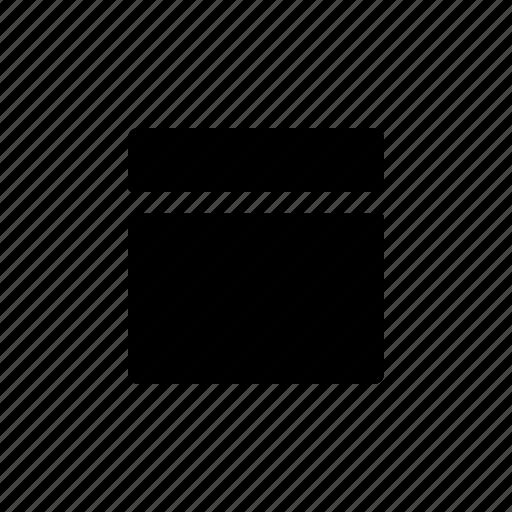 layout, segment, top icon