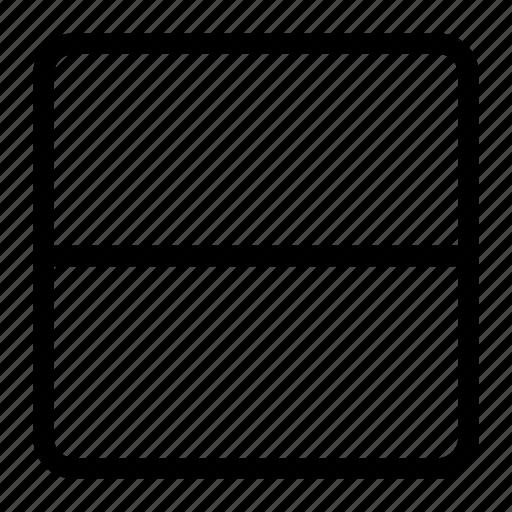 horizontal layout, responsive design, web design, website layout icon