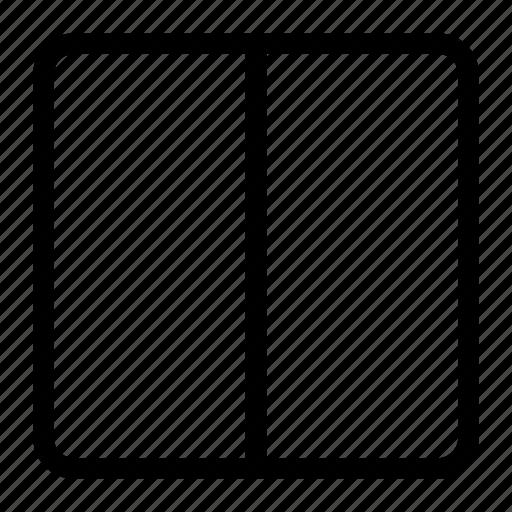 blog, blog design, responsive design, two columns, vertical columns, vertical layout icon