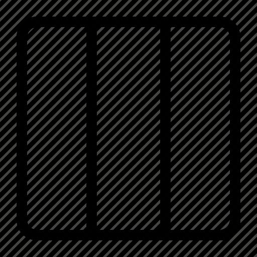 blog design, blog template, vertical columns, vertical template icon