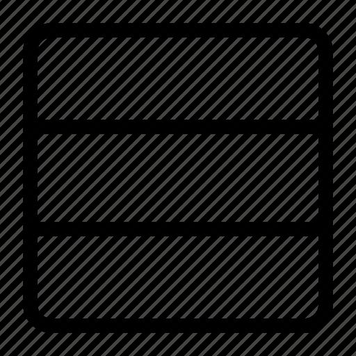 blog design, blog template, horizontal columns, website template icon