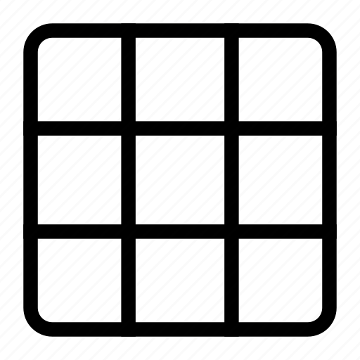 grid, grid design, grid layout, grid system icon
