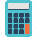 accounting, calculator, learn, learning, school, study icon
