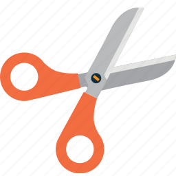 book, cut, learn, learning, scissors, study icon