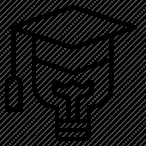 degree, learning, smart, study, university icon