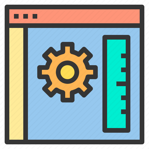 browser, education, learning, process, teacher icon