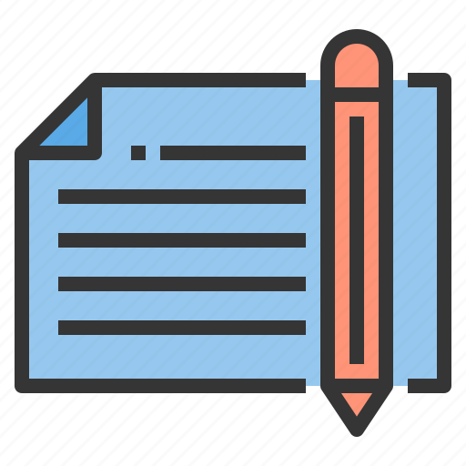 Education, exam, learning, paper, pencil, teacher, test icon - Download on Iconfinder