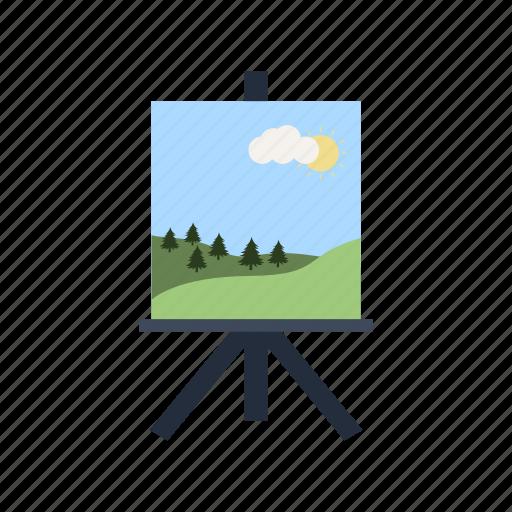 art, artboard, canvas, education, paint, painting, picture icon