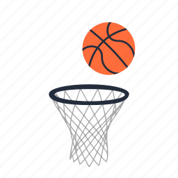 basketball, education, pe, physical, school, sport, team icon