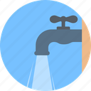 stopcock, flow, tap, hydrovalve, water icon