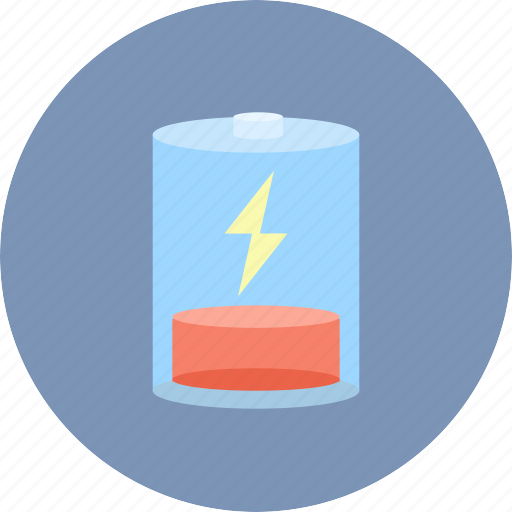 battery, electric, energy, low, power icon