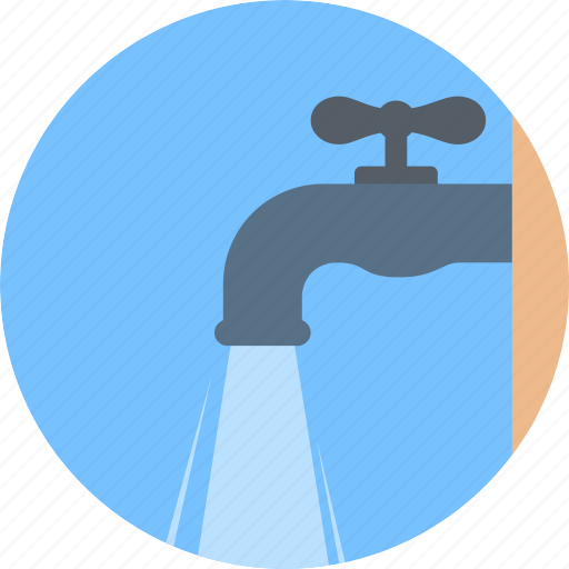 flow, hydrovalve, stopcock, tap, water icon