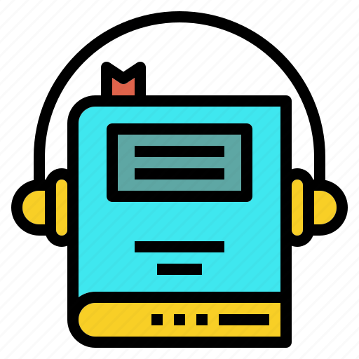 audio, book, course, learning, listen icon