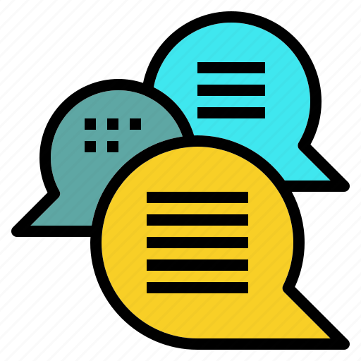 chat, discuss, message, speech icon