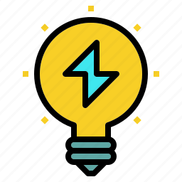 flash, idea, innovation, learning, startup icon