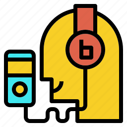 audio, book, listening, music, player, song icon