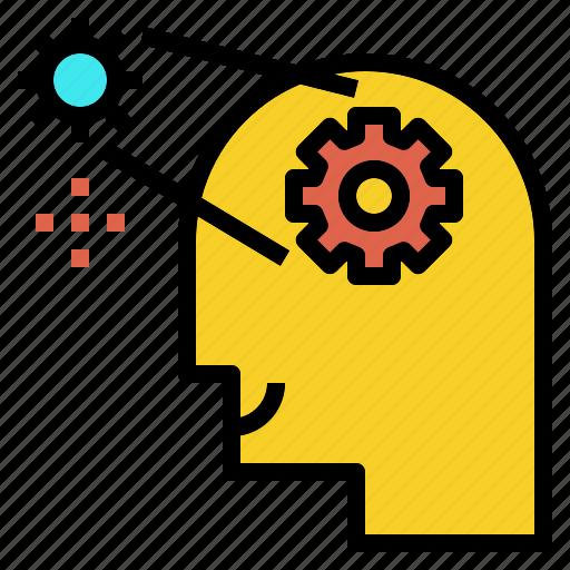 engineering, idea, learning, logic, thinking icon