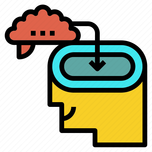 experience, learning, memory, new, study icon
