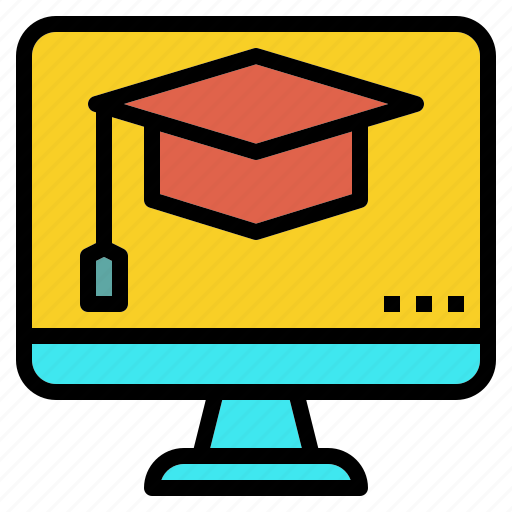 degree, online, school, study icon