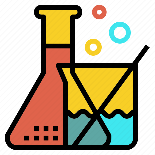 chemistry, development, experiment, research, science icon
