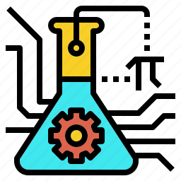 education, engineering, math, school, science, stem, technology icon