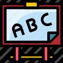 board, education, learning, school, study icon