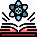 book, education, knowledge, school, science icon