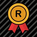registered, trademark, copyright, patent, badge