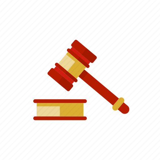court, gavel, hammer, judgment, law, legal icon