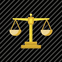 court, femida, gold libra, law, legal, libra, measurement icon